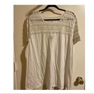 Torrid Adorable Causal Lace Tee